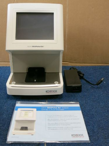 IDEXX SNAPshot DX Analyser Veterinary Laboratory Animal Diagnostics 89-12400-02